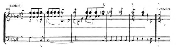 譜例1:シューマン作曲《ライン》第1楽章冒頭